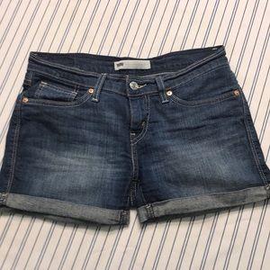 Denim Levi's Shorts.